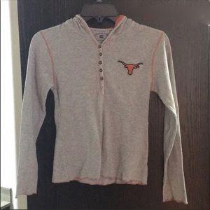 TX Longhorns long sleeve hoodie